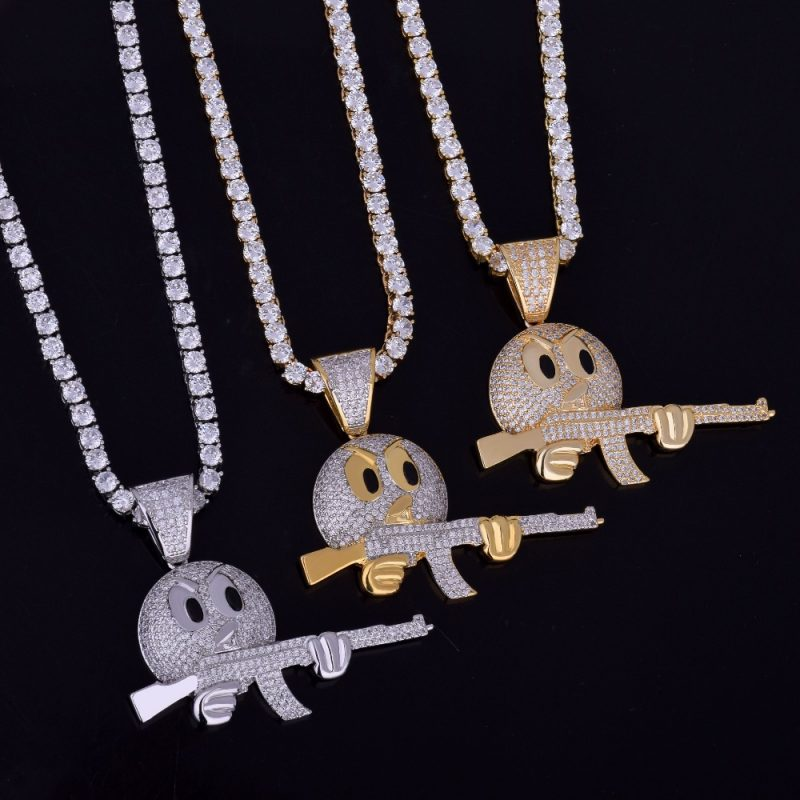 cartoon-round-face-with-ak-47-necklace-pendant-chain-charm-gold-color-cubic-zircon-mens-hip-hop-rock-jewelry-funny-gift-6