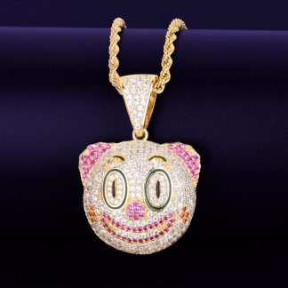 clown-funny-face-pendant-necklace-tennis-chain-gold-color-charm-cubic-zircon-mens-women-hip-hop-rock-jewelry-1