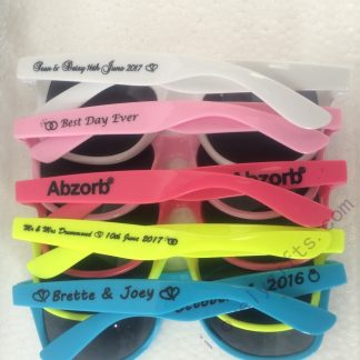 cheap-custom-sunglasses-girls-weekend-pool-party-gifts-80s-theme-party-ideas