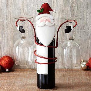 christmas-santa-wine-glass-holder